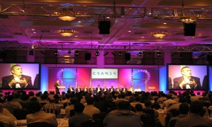 Event management at a conference