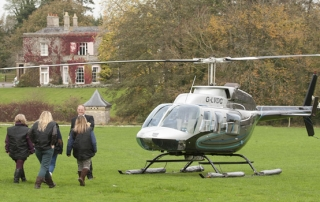 Purton House helicopter
