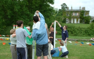 team building at Purton House