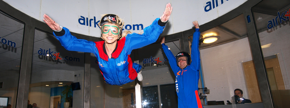 Teambuilding at Airkix