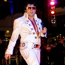 Tribute acts Elvis by Planet Pursuits