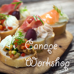 Canapes workshop
