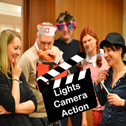 Lights camera action event