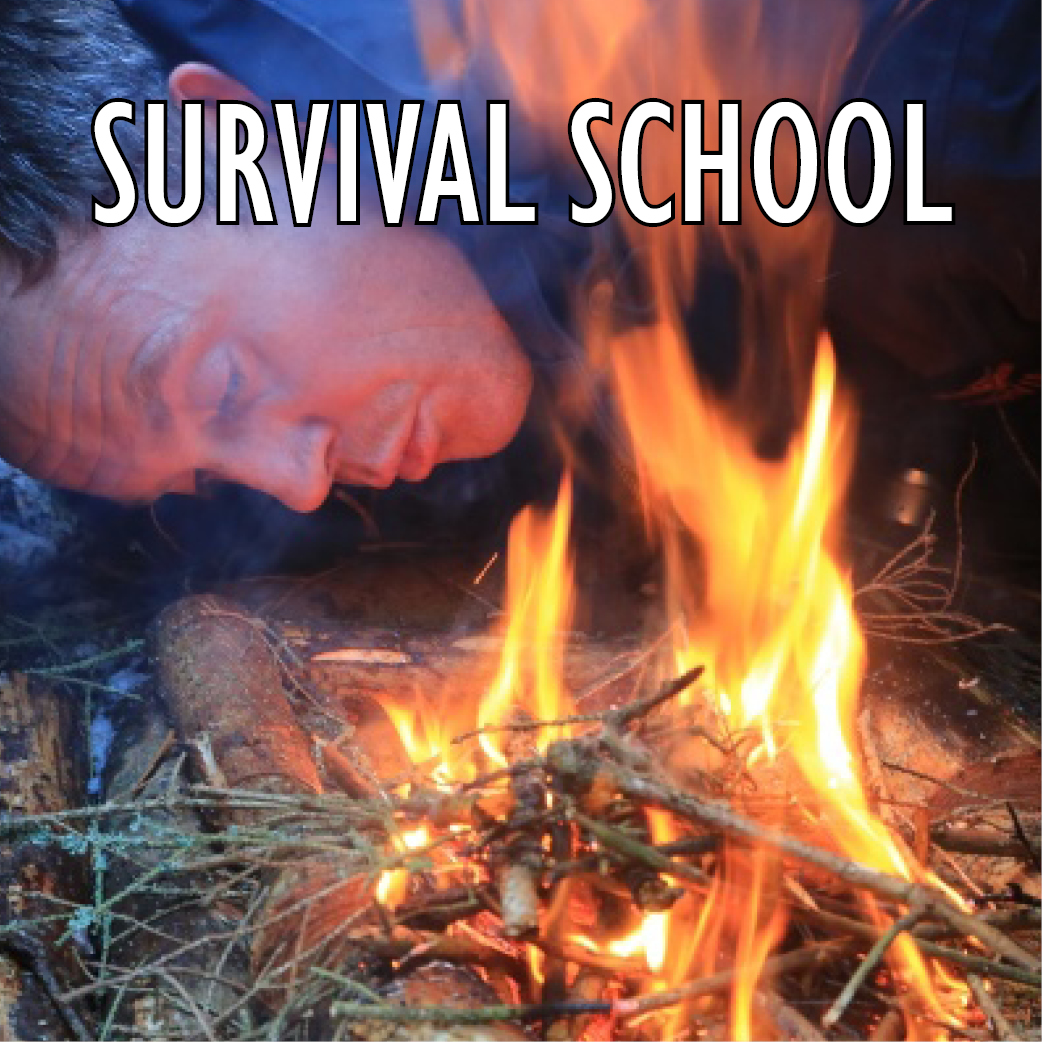 Survival School team building