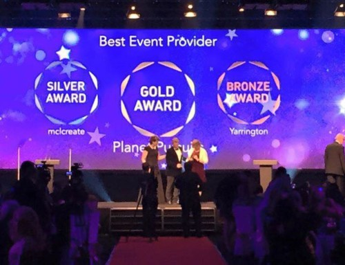 Shortlisted finalist Best Event Provider 2018