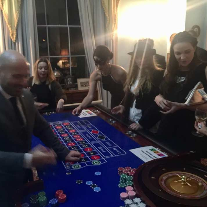 Corporate Event Management - Casino